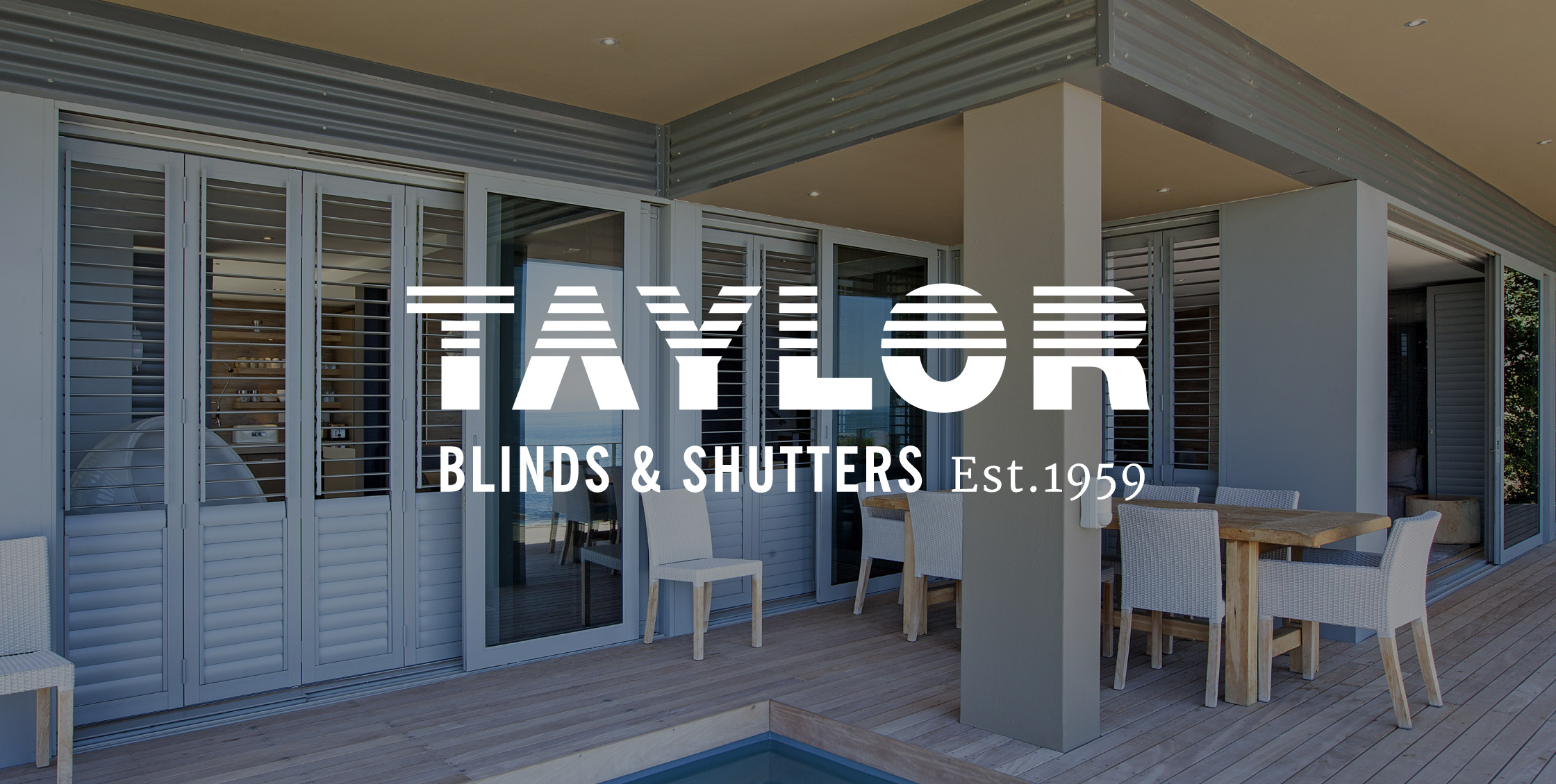 Taylor Blinds logo design - Brand identity agency Cape Town