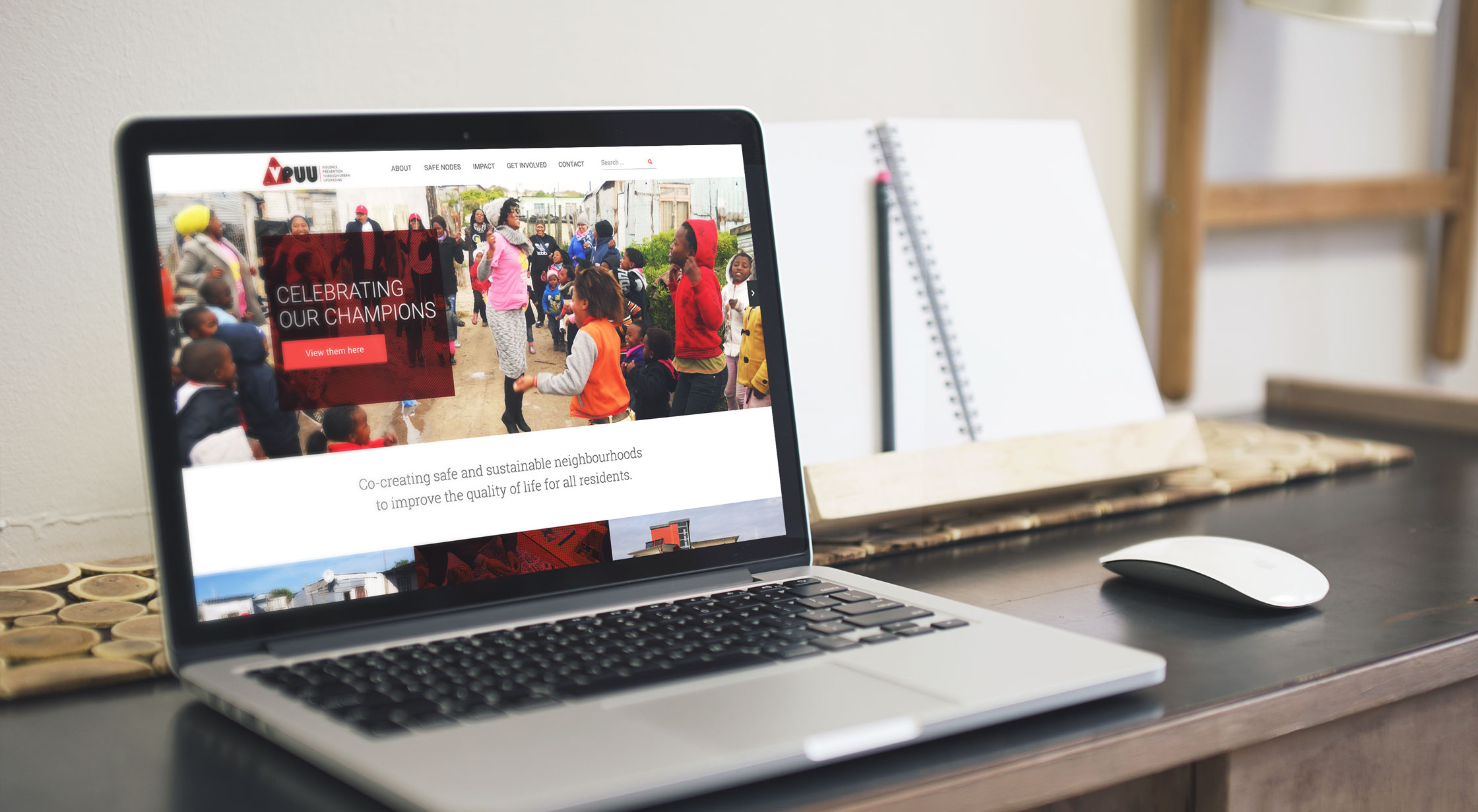 VPUU mobile friendly website design