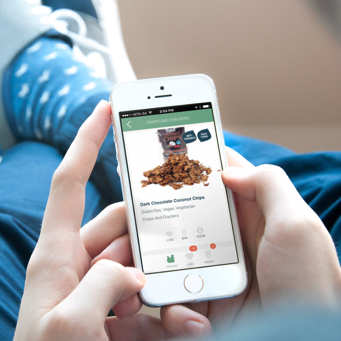 Good Snacks mobile app development