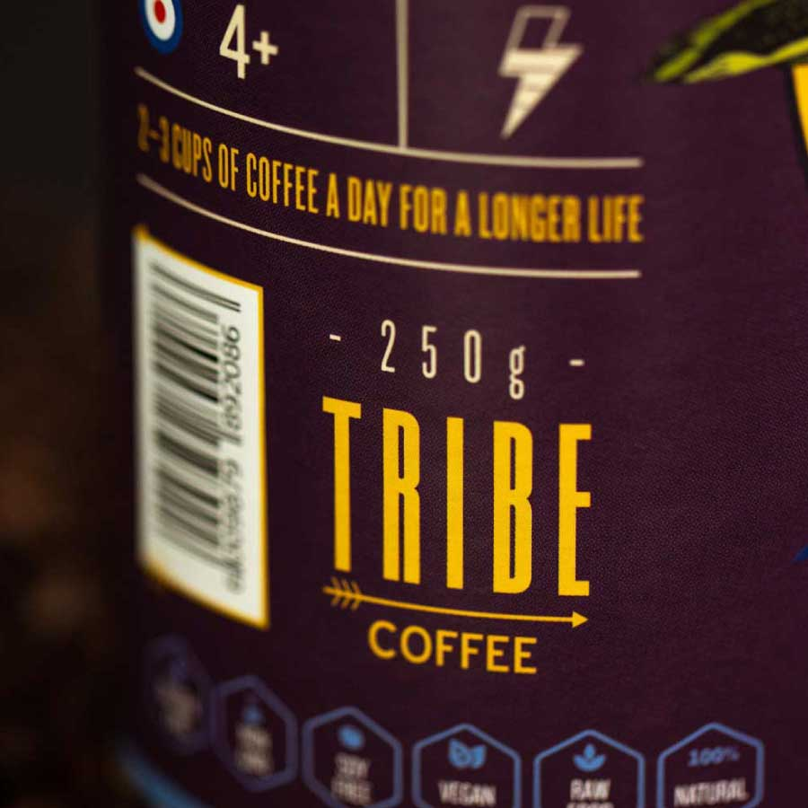 Tribe Coffee Packaging Design 3