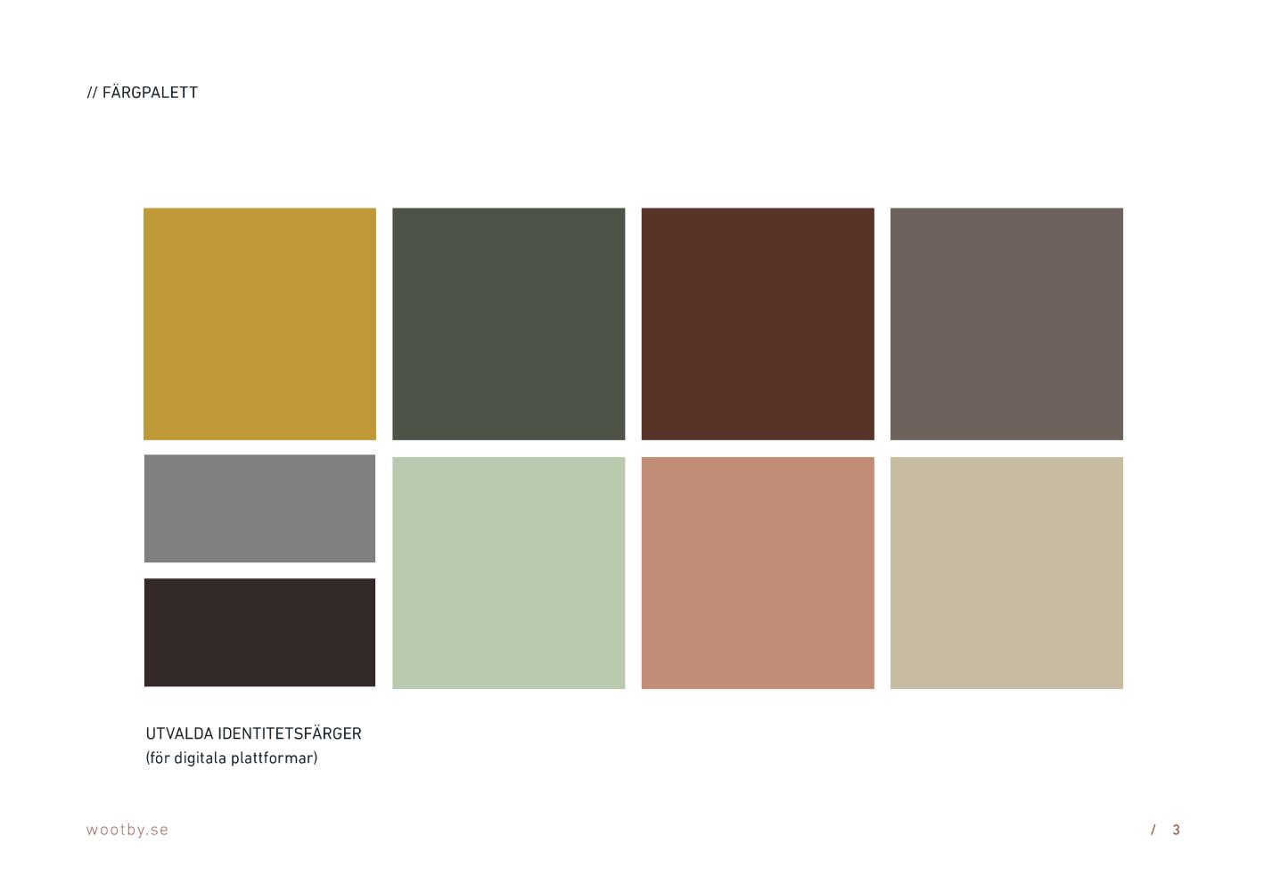 Brand Guidelines Design - Colour